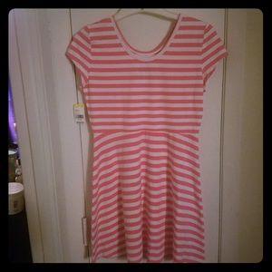 Girls peplum dress